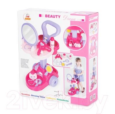 Туалетный столик игрушечный Полесье Салон красоты Диана / 36629