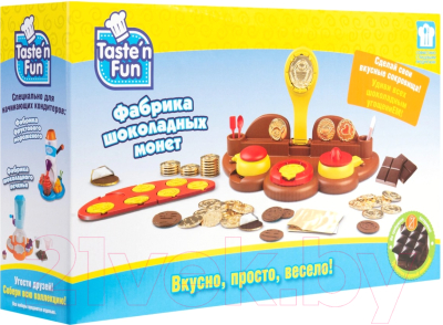 Игровой набор Taste'n fun Фабрика шоколадных монет / 36660