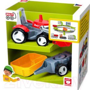 Трактор игрушечный EFKO С дополнительным прицепом / 37015EF-CH