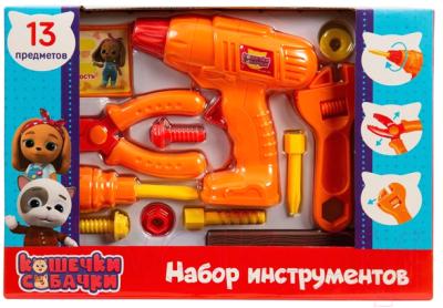 Набор инструментов игрушечный Кошечки-Собачки Набор инструментов / 38424