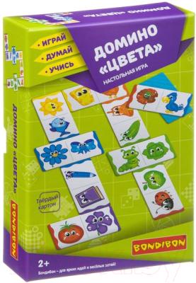 Развивающая игра Bondibon Домино Цвета / ВВ3901