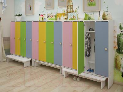 Шкаф для детской одежды Славянская столица ДУ-Ш3
