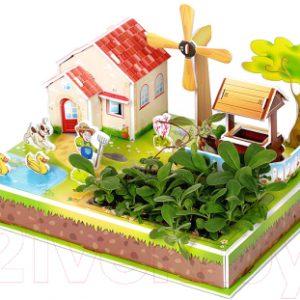 Набор для выращивания растений Darvish 3D Мельничный садик / DV-T-2178-1