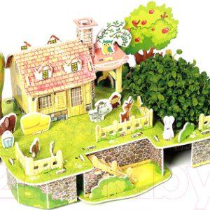 Набор для выращивания растений Darvish 3D Веселый дом друзей / DV-T-2182-11