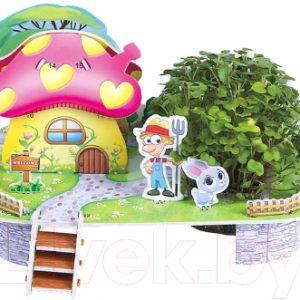 Набор для выращивания растений Darvish 3D Грибной домик / DV-T-2182-1