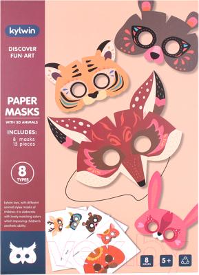 Набор для творчества Darvish Маска 3D Животные / DV-T-2607