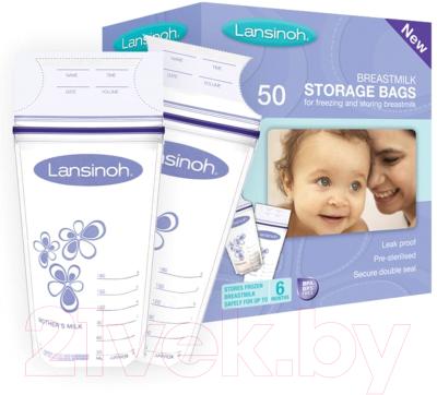 Пакеты для хранения молока Lansinoh 40055