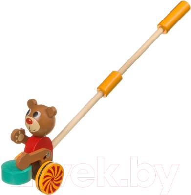 Игрушка-каталка Bondibon Мишка / ВВ4015