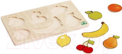 Развивающая игрушка Краснокамская игрушка Вкладыши фрукты / Н-40