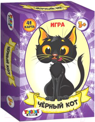 Развивающая игра Topgame Чёрный кот. 41 карточка / 01493