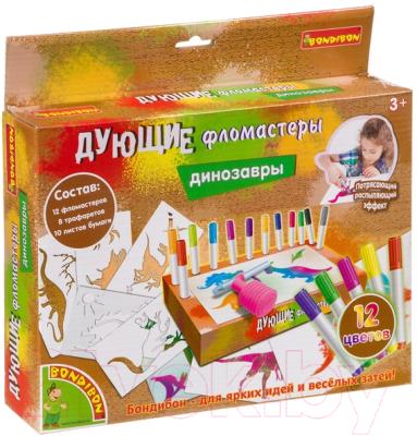 Набор для творчества Bondibon Рисуем динозавров / ВВ4109