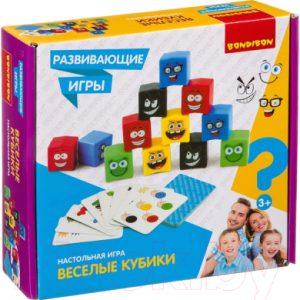Развивающая игра Bondibon Веселые кубики / ВВ4171