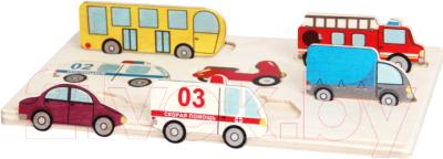 Развивающая игрушка Краснокамская игрушка Городской транспорт / Н-41