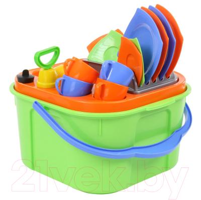 Посудомоечная машина игрушечная Полесье Мини-посудомойка / 42002