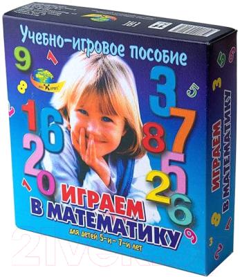 Развивающая игра Корвет Играем в математику / 430135