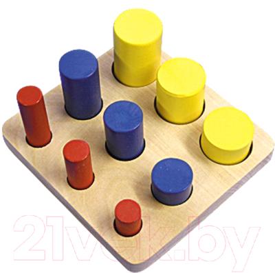 Развивающая игрушка RNToys Цилиндры-втыкалки / Д-431