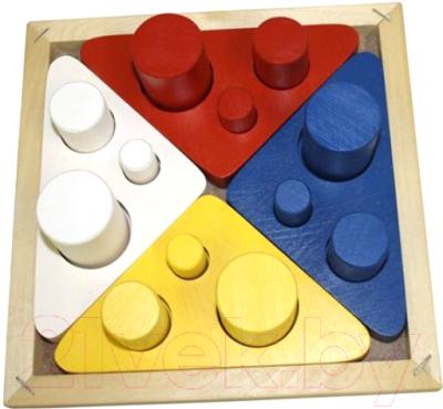 Развивающая игрушка RNToys Цилиндры-втыкалки / Д-432