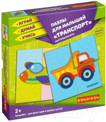 Набор пазлов Bondibon Для малышей. Транспорт / ВВ4333