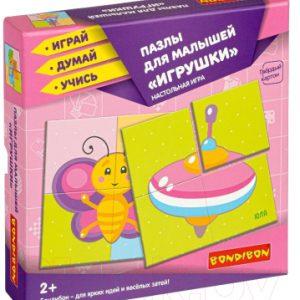 Набор пазлов Bondibon Для малышей. Игрушки / ВВ4336