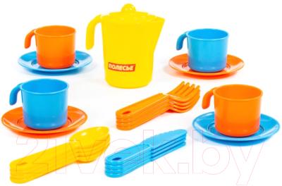 Набор игрушечной посуды Полесье Анюта на 4 персоны / 3841