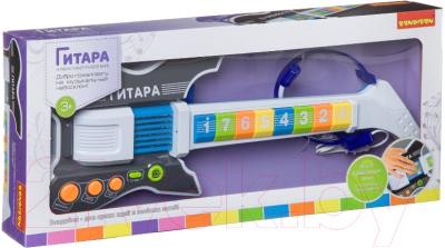 Музыкальная игрушка Bondibon Электрогитара с микрофоном / ВВ4397