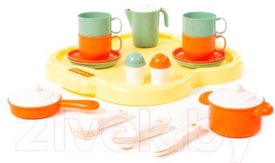 Набор игрушечной посуды Полесье Янина на 4 персоны / 4060