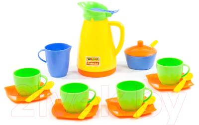 Набор игрушечной посуды Полесье Алиса на 4 персоны / 40619