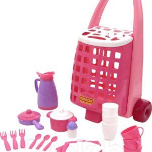 Набор игрушечной посуды Полесье Забавная с набором детской посуды / 44389