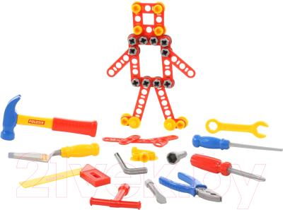 Набор инструментов игрушечный Полесье №4 / 47182