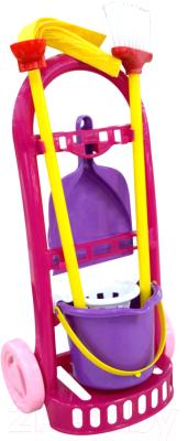 Набор хозяйственный игрушечный Полесье Чистюля-мини / 44747