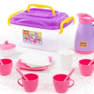 Набор игрушечной посуды Полесье Алиса на 4 персоны / 53480