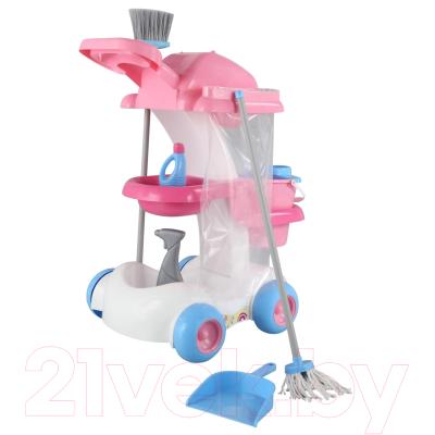 Набор хозяйственный игрушечный Полесье Помощница №4 / 54524