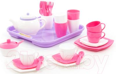 Набор игрушечной посуды Полесье Алиса на 4 персоны / 58973