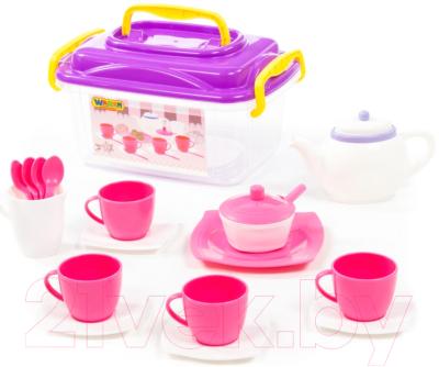 Набор игрушечной посуды Полесье Алиса на 4 персоны / 58980