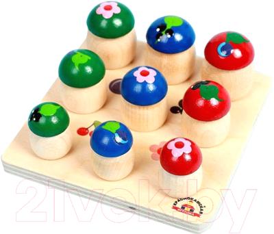 Развивающая игрушка Краснокамская игрушка Грибочки / Н-45