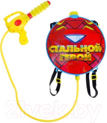 Бластер игрушечный Woow Toys Стальной герой / 4627687