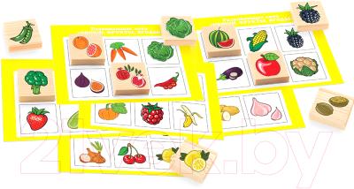 Развивающая игра Анданте Лото. Овощи