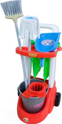 Набор хозяйственный игрушечный Полесье Помощница / 46956
