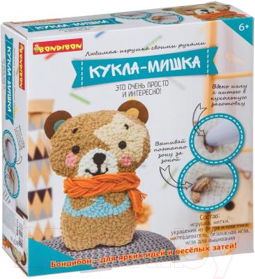 Набор для творчества Bondibon Моя кукла! Кукла-мишка / ВВ4711