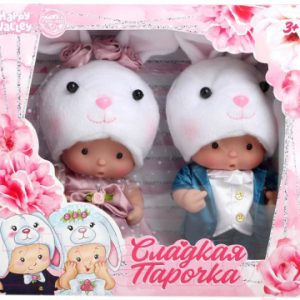 Набор кукол Happy Valley Крошики: Сладкая парочка зайцы / 4780209