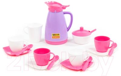 Набор игрушечной посуды Полесье Алиса на 4 персоны Pretty Pink / 40626