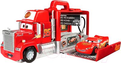 Трейлер игрушечный Smoby Грузовик Мак и машинка Молния МакКуин 500291