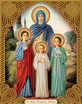 Набор алмазной вышивки Алмазная живопись Икона Вера