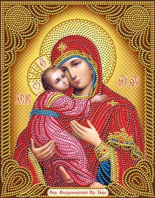 Набор алмазной вышивки Алмазная живопись Икона Владимирская Богородица / АЖ-5034