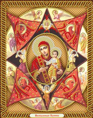 Набор алмазной вышивки Алмазная живопись Икона Неопалимая Купина / АЖ-5048