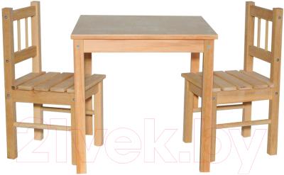 Комплект мебели с детским столом ВудГрупп 50x50x50