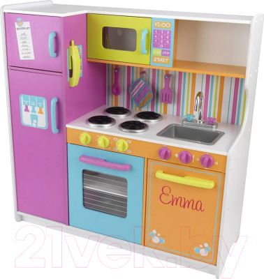 Детская кухня KidKraft Делюкс / 53100-KE