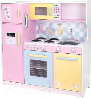 Детская кухня KidKraft Пастель / 53181-KE