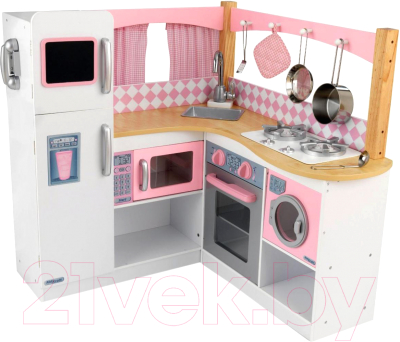 Детская кухня KidKraft Изысканный уголок / 53185-KE