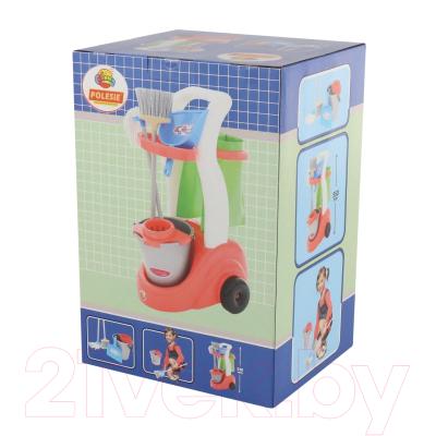 Набор хозяйственный игрушечный Полесье Помощница / 53602